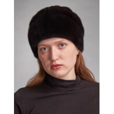 м131п-6 // Головной убор меховой женский, цвет -чёрный